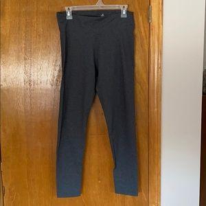 Adidas Climalite grey workout leggings